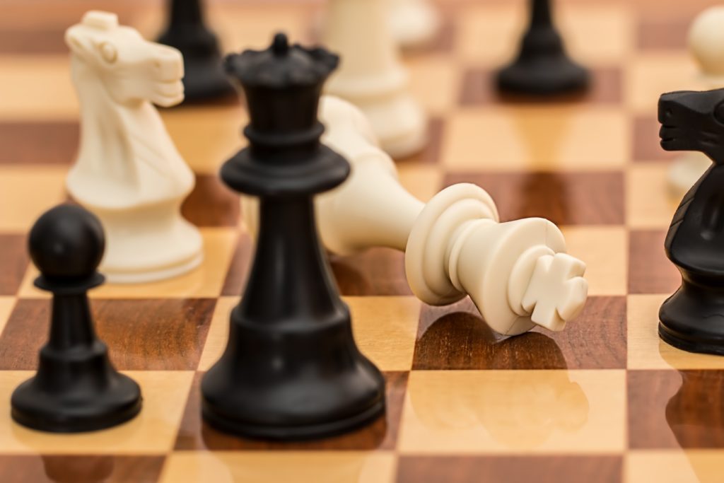 5cs of credit chess pieces