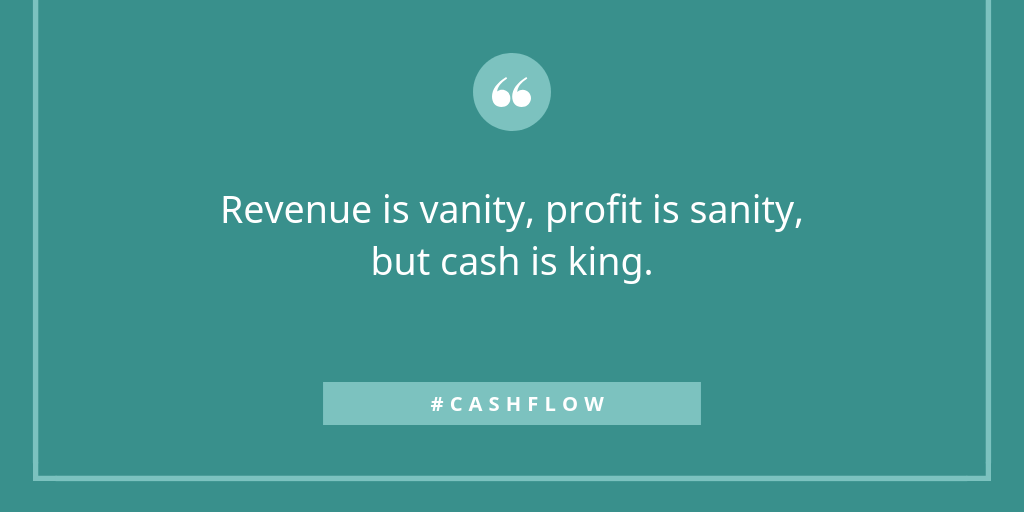 There is really only one way to address cash flow crunches