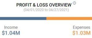 Profit & Loss Overview